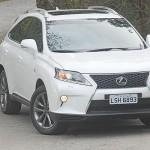 Lexus tem modelo na briga dos SUVs
