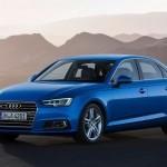 A nova geração do Audi A4 chega ao Brasil em duas versões,  com preços a partir de R$ 160 mil, além da série especial Launch Edition. O modelo é equipado com motor de 190 cv de poência, mas no segundo semestre chega com um propulsor mais potente, de 252 cv/ Fotos: Divulgação