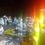 Acidente Mogi-Bertioga: 18 mortes; 1identificado