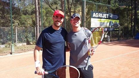 Alexandre Oliveira e Alexsandro Nogueira