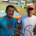Carlos Keiske e Nilson Yatsugafu