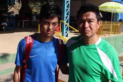 Eric Ishii  e Marcos Suzuki