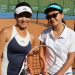 Yoko Nogura e Mari Yamamoto