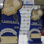 No último fim de semana rolou as finais e a premiação da etapa Kosmos Clube do Circuito de Tênis O Diário 2016
