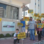 Grupo manifesta pela entrega de empreendimento em Mogi